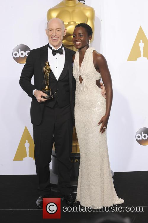 Lupita Nyong'o and J.k. Simmons