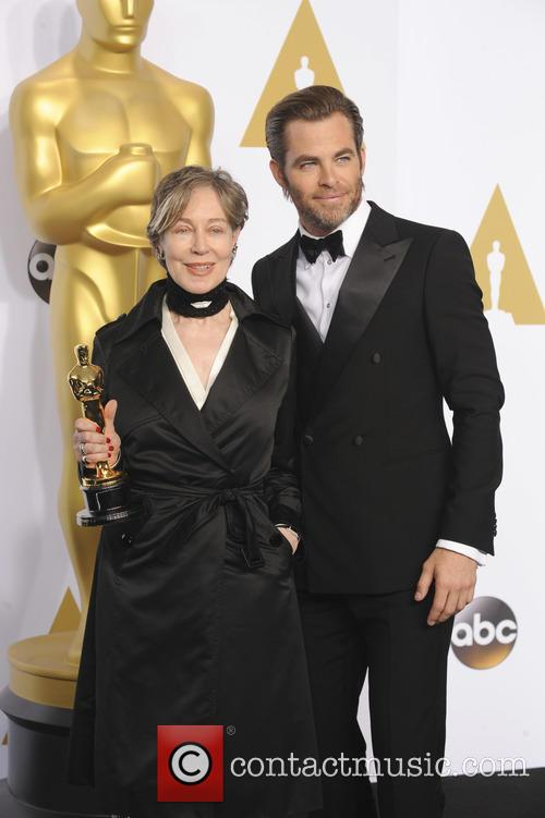 Milena Canonero and Chris Pine 1