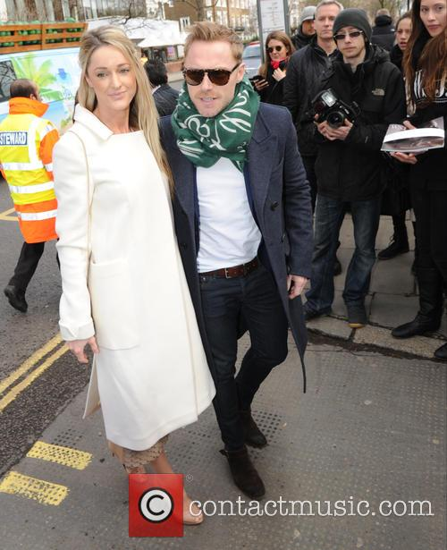 Storm Uechtritz and Ronan Keating 2
