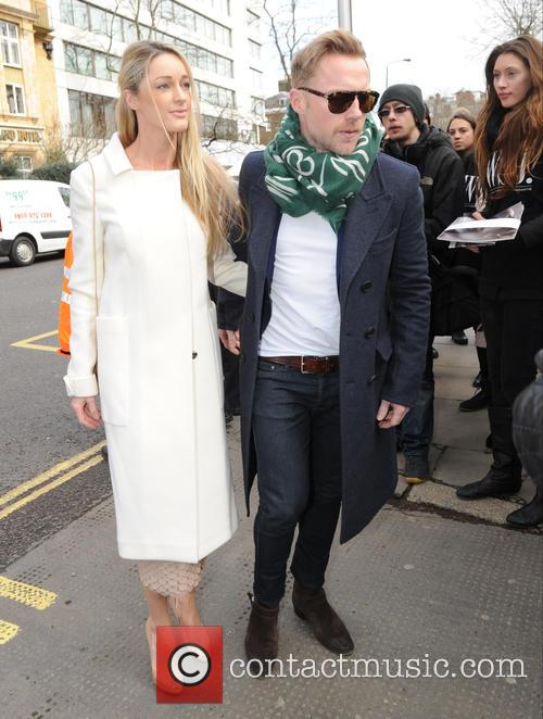 Storm Uechtritz and Ronan Keating 1
