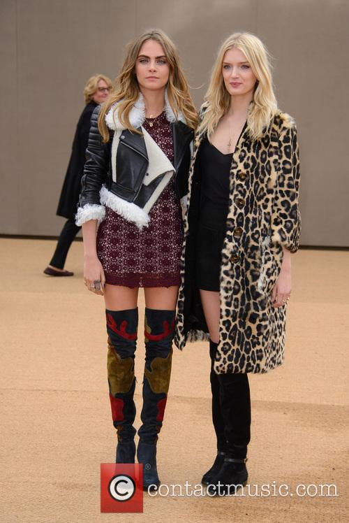 Cara Delevingne and Lily Donaldson 3