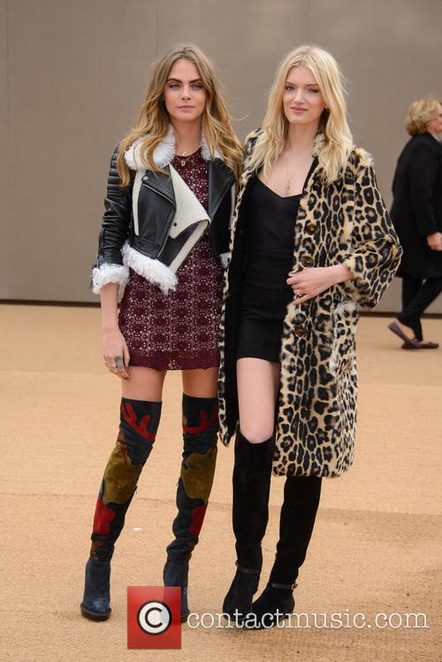 Cara Delevingne and Lily Donaldson 4
