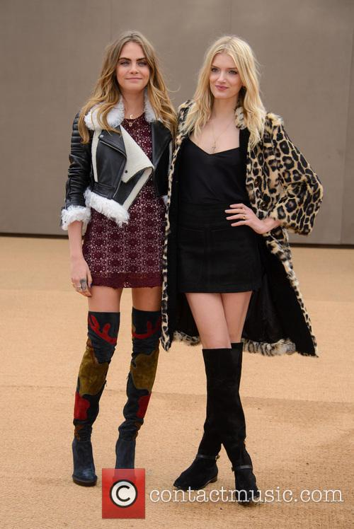 Cara Delevingne and Lily Donaldson 5