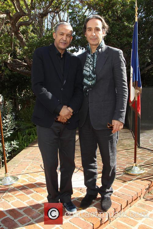 Abderrahmane Sissako and Alexandre Desplat 3