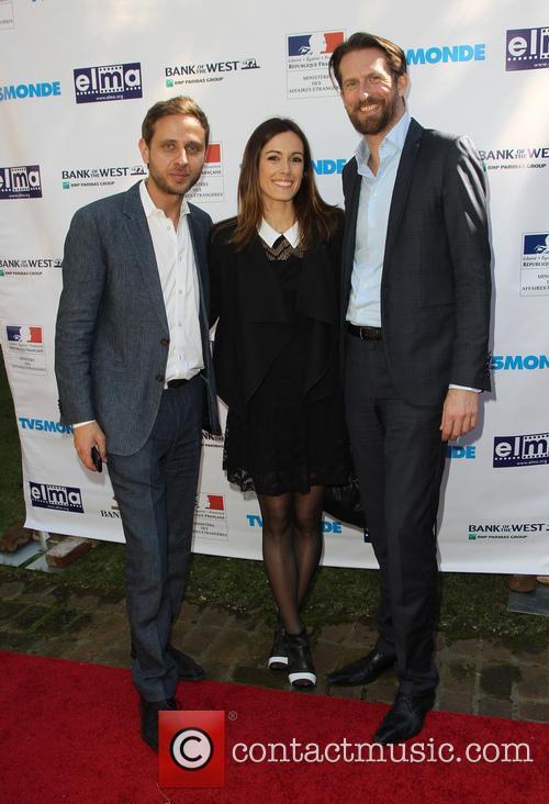 Adrien Sarre, Leslie Coutterand and Sam Bobino 2
