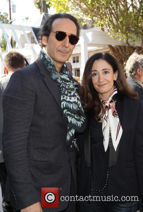 Alexandre Desplat and Cynthia Ajar 3