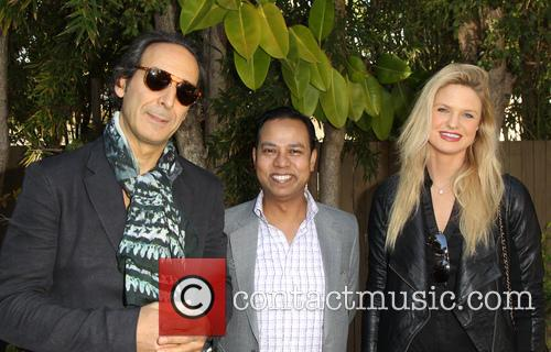 Alexandre Desplat, Munawar Hosain and Kayla Peterson 6