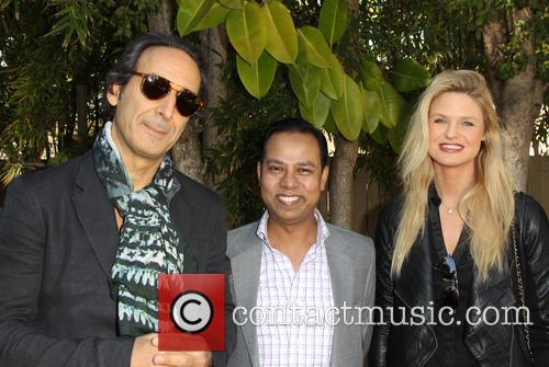 Alexandre Desplat, Munawar Hosain and Kayla Peterson 7