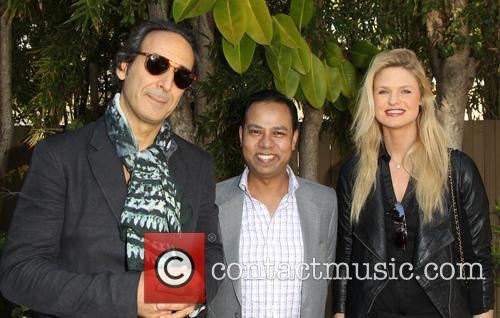 Alexandre Desplat, Munawar Hosain and Kayla Peterson 8
