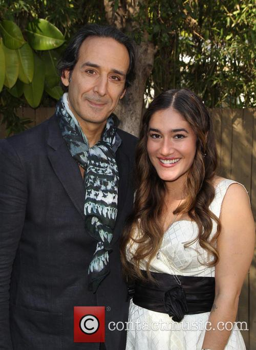 Alexandre Desplat and Q'orianka Kilcher 2