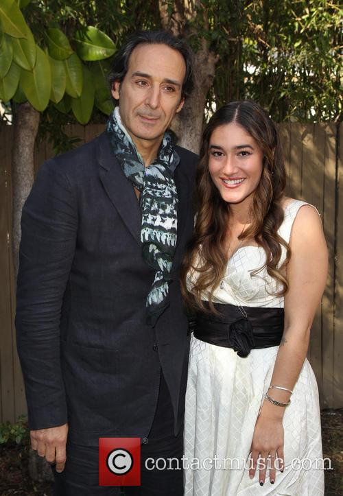 Alexandre Desplat and Q'orianka Kilcher 5