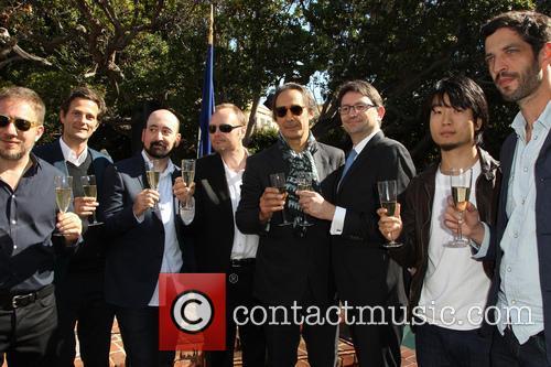 Ivi Robert, Stephane Ceretti, Nicolas Aithadi, Alexandre Desplat, Axel Cruau, Hu Wei and Julian Feret 5