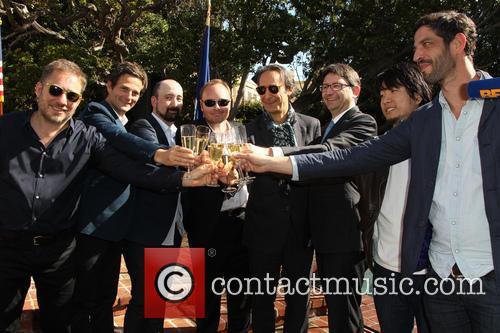 Ivi Robert, Stephane Ceretti, Nicolas Aithadi, Alexandre Desplat, Axel Cruau, Hu Wei and Julian Feret 6