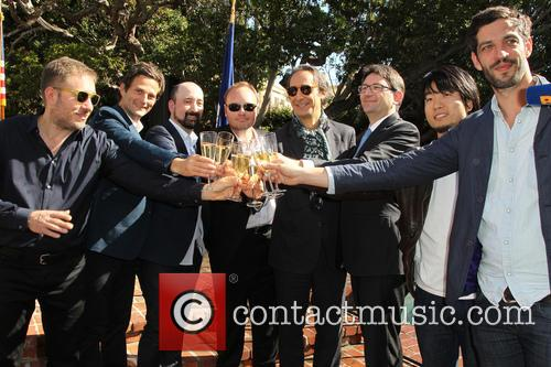 Ivi Robert, Stephane Ceretti, Nicolas Aithadi, Alexandre Desplat, Axel Cruau, Hu Wei and Julian Feret 1