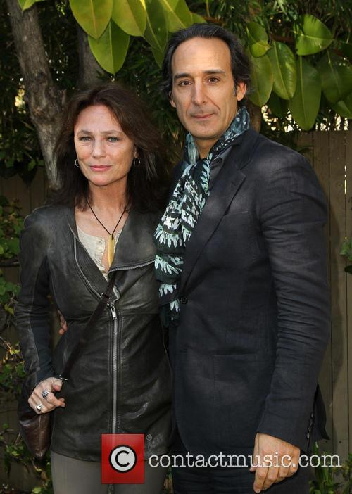 Jacqueline Bisset and Alexandre Desplat 1