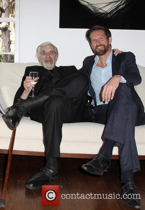 Martin Landau and Sam Bobino 2