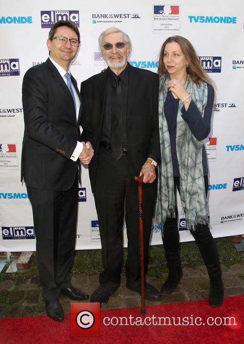 Mr. Axel Cruau, Martin Landau and Guest 8