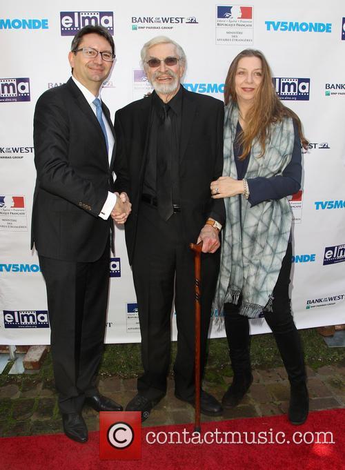 Mr. Axel Cruau, Martin Landau and Guest 9