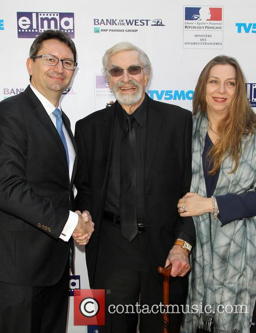 Mr. Axel Cruau, Martin Landau and Guest 10