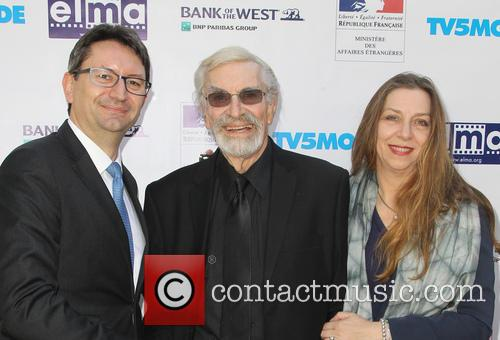 Mr. Axel Cruau, Martin Landau and Guest 1