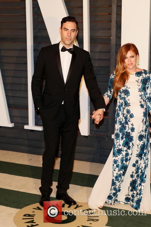 Sacha Baron Cohen and Isla Fisher 2