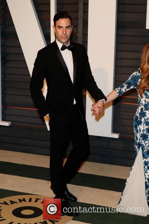 Sacha Baron Cohen and Isla Fisher 3
