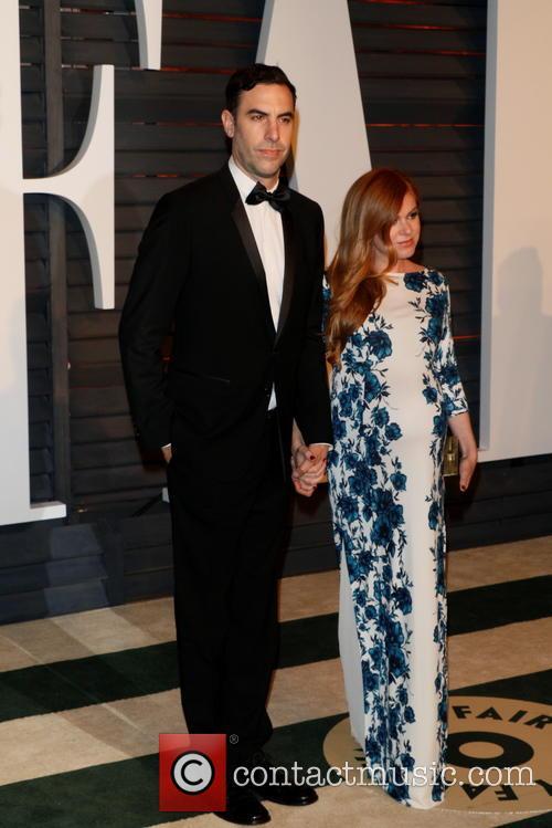 Sacha Baron Cohen and Isla Fisher 5