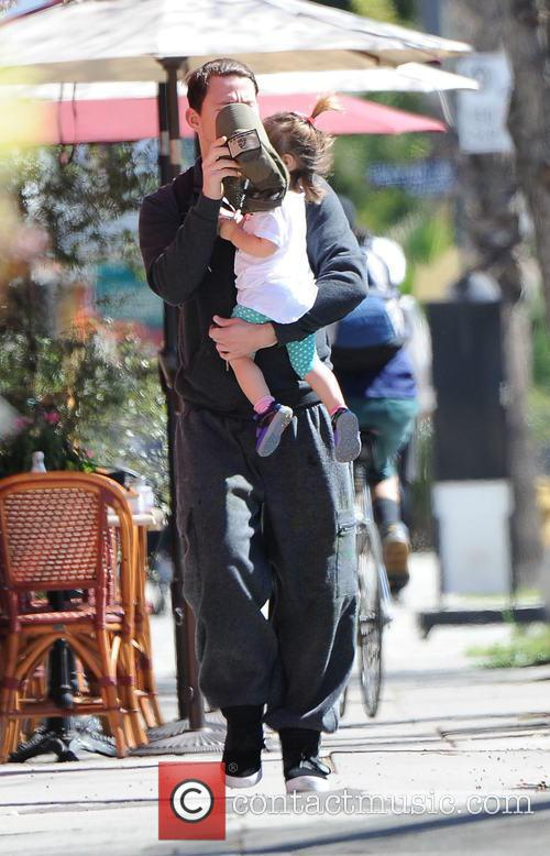 Channing Tatum and Everly Tatum