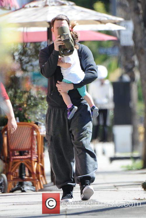 Channing Tatum and Everly Tatum 4