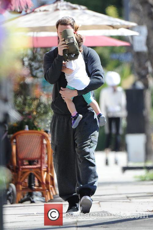 Channing Tatum and Everly Tatum 5