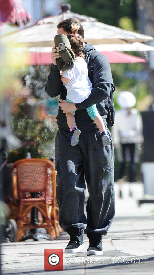 Channing Tatum and Everly Tatum 6