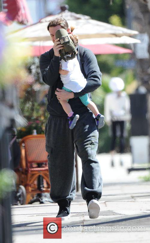 Channing Tatum and Everly Tatum 7