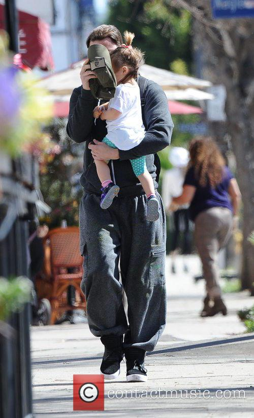 Channing Tatum and Everly Tatum 9