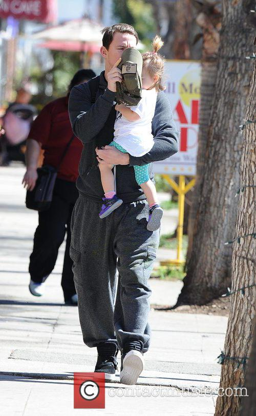 Channing Tatum and Everly Tatum 1