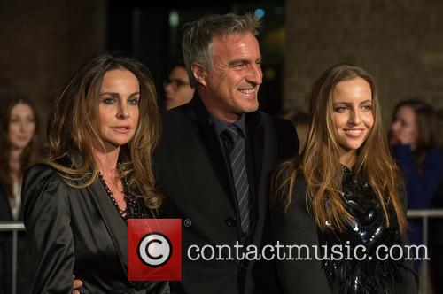 Coraline Ginola, David Ginola and Guest 2