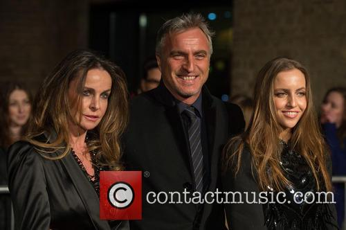 Coraline Ginola, David Ginola and Guest 3