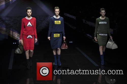 London Fashion Week Autum, Winter, Anya Hindmarch and Runway 2