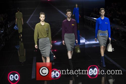 London Fashion Week Autum, Winter, Anya Hindmarch and Runway 5