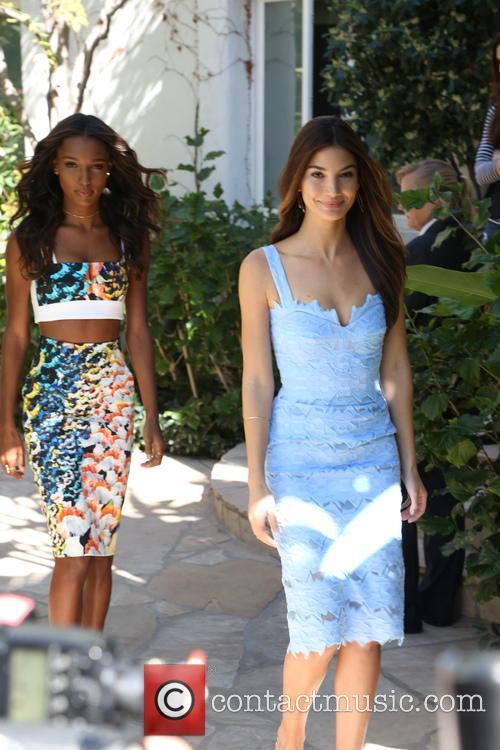 Jasmine Tookes and Lily Aldridge 2