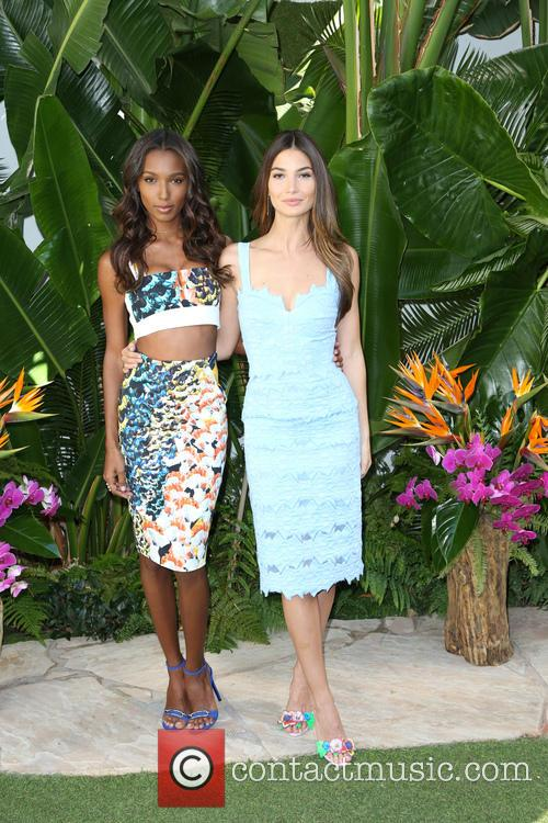 Jasmine Tookes and Lily Aldridge 3