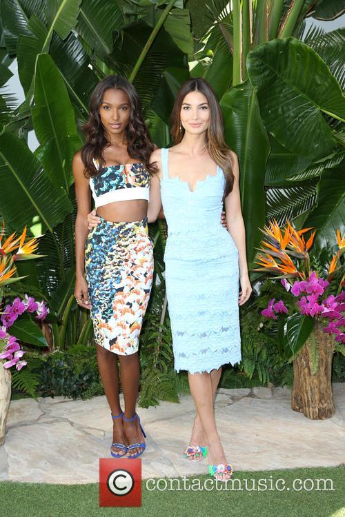 Jasmine Tookes and Lily Aldridge 5