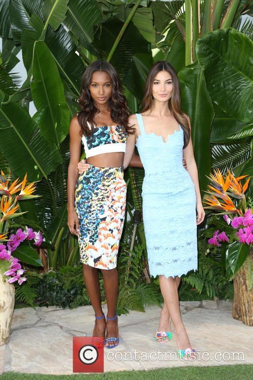 Jasmine Tookes and Lily Aldridge 8