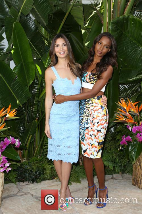 Lily Aldridge and Jasmine Tookes 5