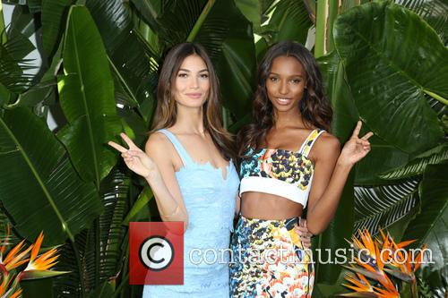 Lily Aldridge and Jasmine Tookes 11