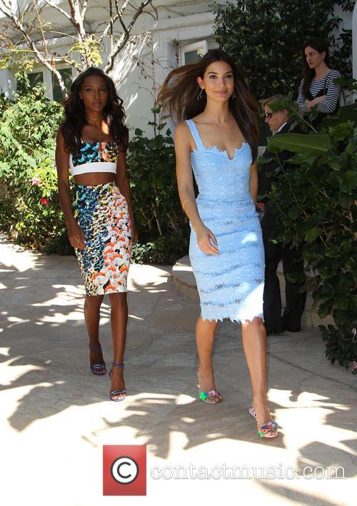 Jasmine Tookes and Lily Aldridge 4