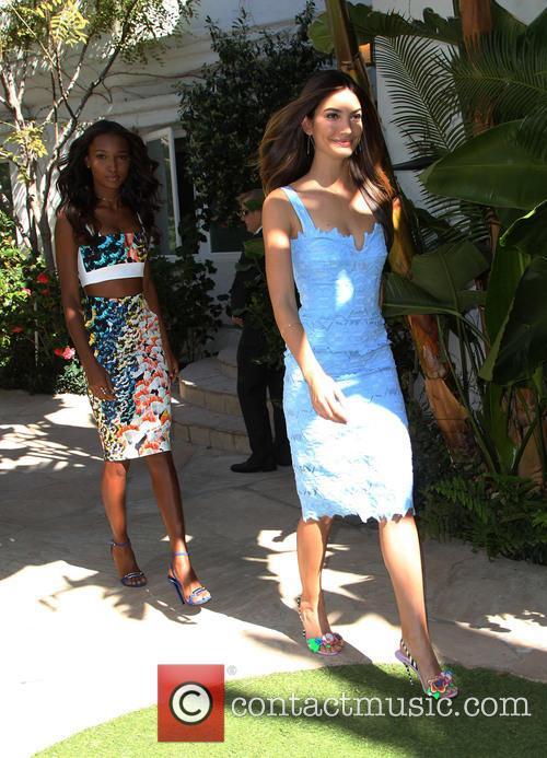 Jasmine Tookes and Lily Aldridge 6