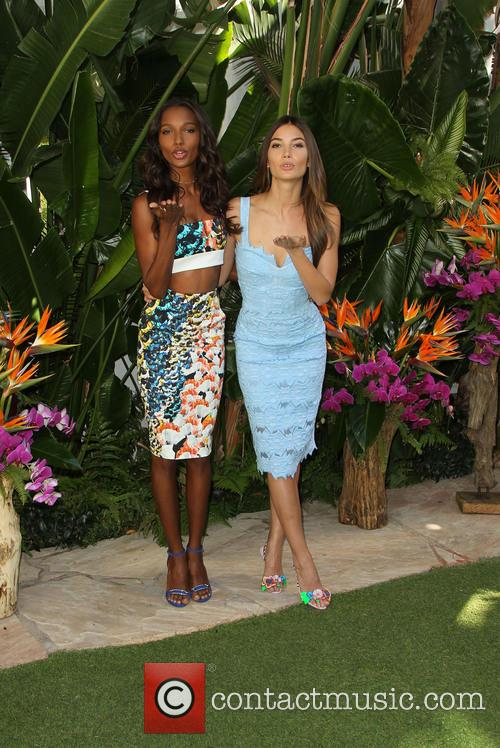 Jasmine Tookes and Lily Aldridge 7