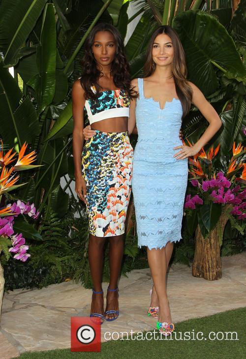 Jasmine Tookes and Lily Aldridge 9