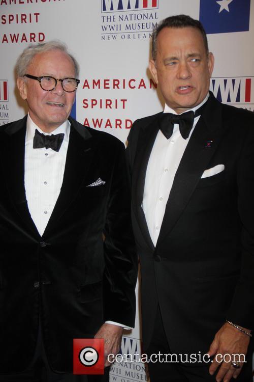 Tom Brokaw and Tom Hanks 4