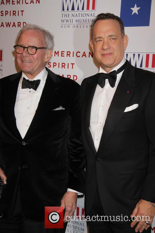 Tom Hanks and Tom Brokaw 2